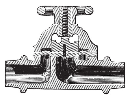 hardened: Tap lead hardened to acids, vintage engraved illustration. Industrial encyclopedia E.-O. Lami - 1875.