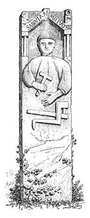 Forge, vintage engraved illustration. Ilustracja