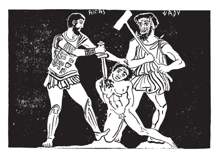 murder scene: Escena del crimen, ilustraci�n de la vendimia grabado.