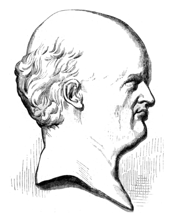Geoffroy Saint Hilaire, vintage engraved illustration. Magasin Pittoresque 1845. Stock Photo
