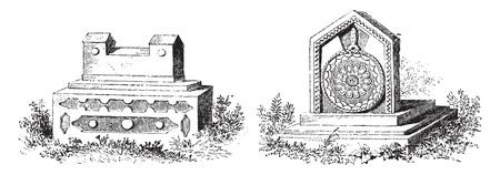 Tombs of Jews Karaites, Tomb bicorne, Modern tomb