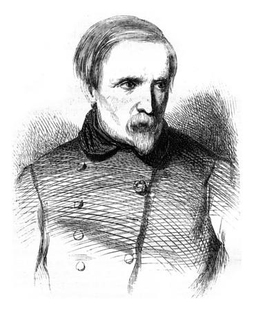 Charlet, illustration vintage gravé. Magasin Pittoresque 1846.