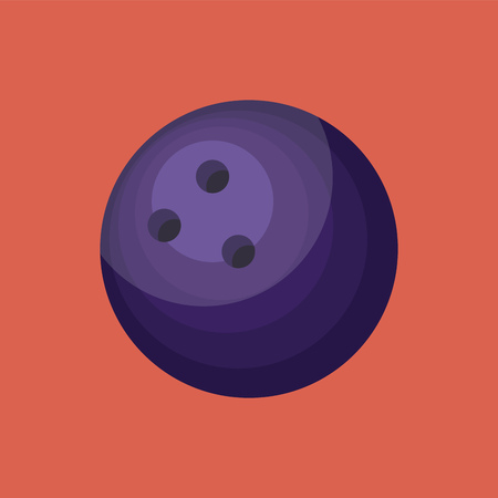 A Blue ball with shades ball is printed with a sad expression vector color drawing or illustration.
