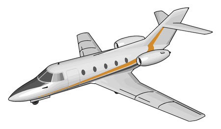 The Airplane also called aeroplane or plane any of a class of fixed-wing aircraft that is heavier than air It comes in a variety of sizes shapes and wing configurations vector color drawing or illustration