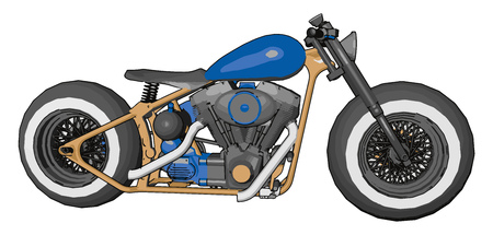 Rush bike driving leads to accidental injury or even death of a person So to be avoided with proper training keeping to speed limits Non-Alcoholic and non- drug driving vector color drawing or illustration Illustration