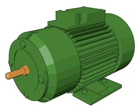 Un moteur électrique est une machine qui convertit l'énergie électrique en énergie mécanique.