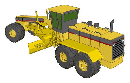 701 Excavator Scraper Stock Vector Illustration And Royalty Free
