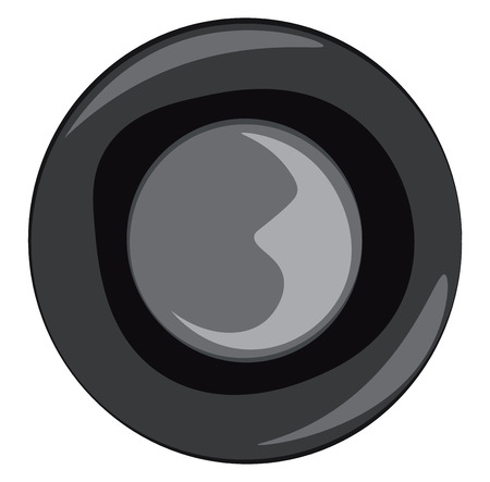 A car steering wheel vector or color illustration Stock Illustratie