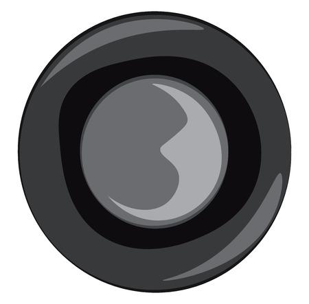 A car steering wheel vector or color illustration Illustration