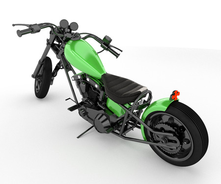 A motorcycle often called a bike motorbike or cycle is a two- or three-wheeled motor vehicle vector color drawing or illustration