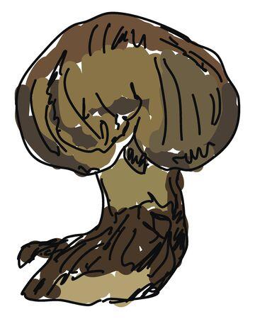 Globosum, illustration, vector on white background.