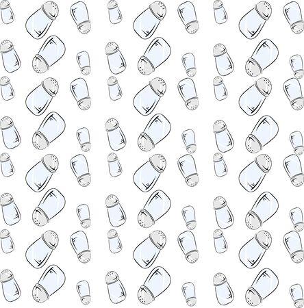 Salt wallpaper, illustration, vector on white background.