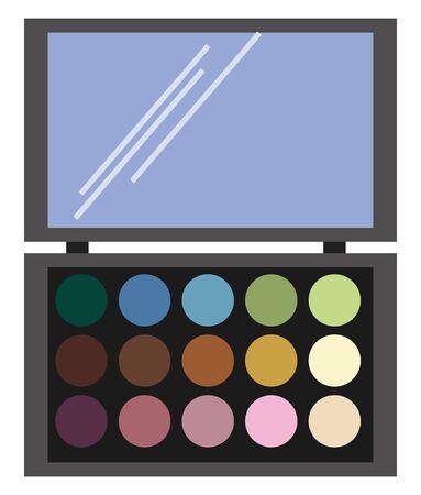 Make up, illustration, vector on white background.