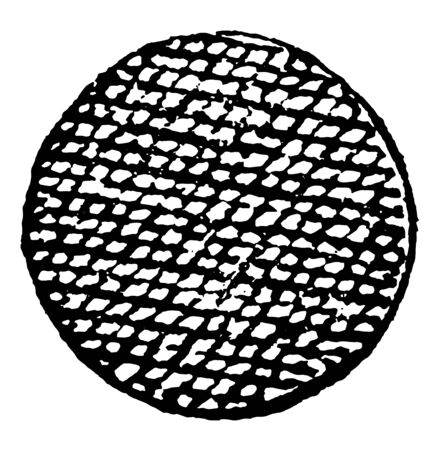 Roundlet Guzes have balls used in Armory, vintage line drawing or engraving illustration. Banque d'images - 132981053