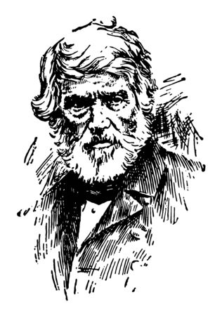 Thomas Carlyle 1795 to 1881 he was a Scottish philosopher satirical writer essayist historian and teacher famous for the Carlyle circle and method used in quadratic equations in mathematics vintage li
