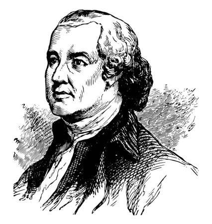 Edward Rutledge 1749 to 1800 he was an American politician signer of the United States declaration of Independence representing South Carolina and governor of South Carolina vintage line drawing or engraving illustration Stok Fotoğraf - 133479606