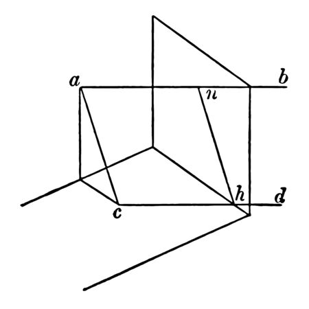 Geometry is the branch of mathematics concerned with the properties and relations of points it is a number of early cultures as a practical way for dealing with lengths vintage line drawing or engraving illustration.