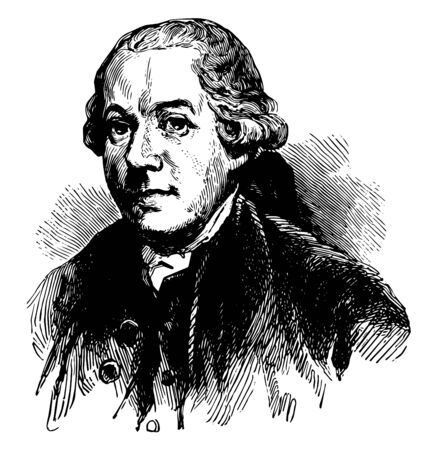Henry Laurens 1724 to 1792 he was an American merchant slave trader and rice planter from South Carolina vintage line drawing or engraving illustration