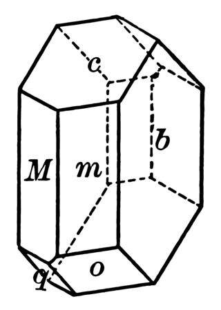 This diagram represents Albite vintage line drawing or engraving illustration.