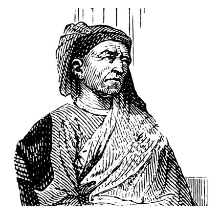 Filippo Brunelleschi 1377 to 1446 he was an Italian designer planner and key figure in architecture first modern engineer one of the founding fathers of the Renaissance famous for developing a technique for linear perspective in art vintage line drawing or engraving illustration