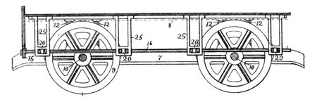 Friction Shoe Car Brake is a device that decelerates a moving object such as car converting its kinetic energy into heat, vintage line drawing or engraving illustration. Banque d'images - 132855287