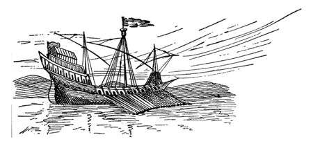 Medieval Ship was a large variety mostly based on much older conservative designs, vintage line drawing or engraving illustration.