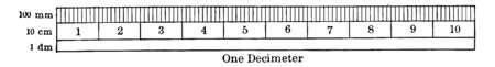A metric ruler is used to measure centimeter and millimeters, vintage line drawing or engraving illustration.