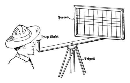 Sketching Screen is valued by beginning surveyors, it feel and usability of the cursor control, vintage line drawing or engraving illustration.
