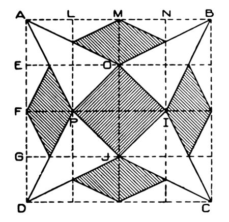 Diamond Exercise is the four diamond-shaped areas are formed by drawing lines, It is guide with instructions and demonstration or calories burned and muscles worked, vintage line drawing or engraving illustration.