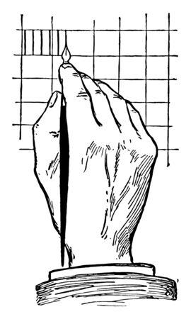 Position für Beschriftungen sind andere Zeichen in technischen Zeichnungen, sie sollten speziell auf die jeweilige und normalerweise in der Ecke platzierte Vintage-Linienzeichnung oder Gravurdarstellung zugeschnitten sein.