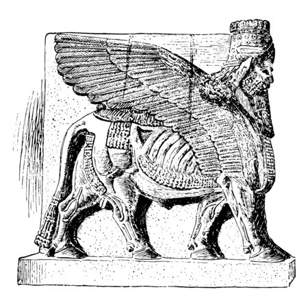 Colossal Man-Beast from the Palace of Sargon,
