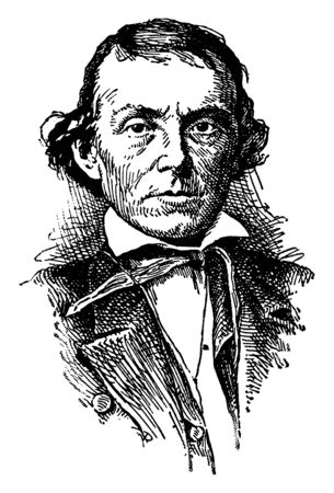 Alexander H. Stephens, 1812-1883, he was an American politician, the vice president of the confederate states of America during the American civil war and governor of Georgia, vintage line drawing or engraving illustration