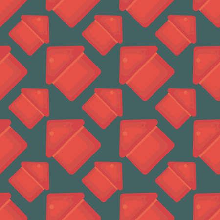 Houses pattern , illustration, vector on white background 向量圖像