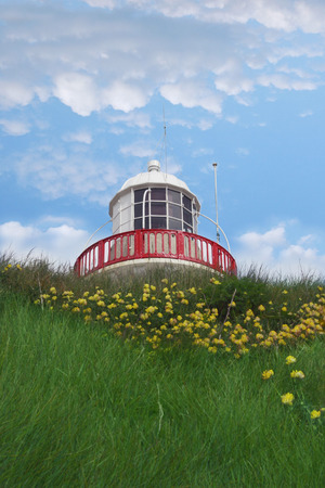 lighthouse in youghal cork ireland photo