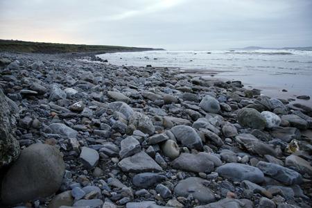 kerry: a winters beach in ireland Stock Photo