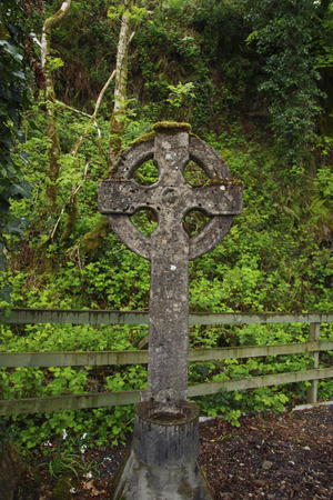 croce celtica: uno croce celtica in Irlanda