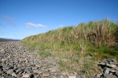 beachcomb: rocky beach on the west coast of ireland Stock Photo