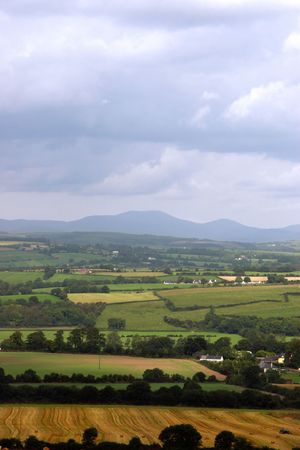 irish countryside: a scenic view in the irish countryside Stock Photo