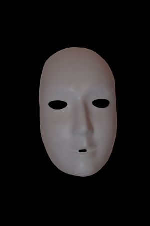 a  mask with clipping path Stock Photo - 2831880