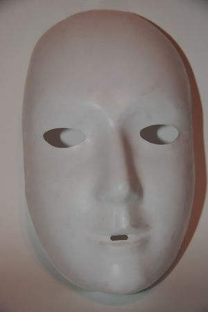 a  mask with clipping path Stock Photo - 2831884
