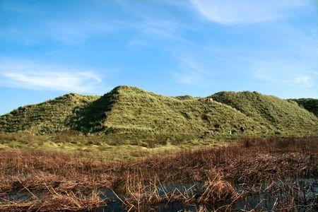 weird sand dunes on the west coast of ireland Stock Photo - 3066227