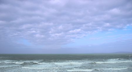 sweeping waves during a storm of the west coast of ireland Stock Photo - 3187725