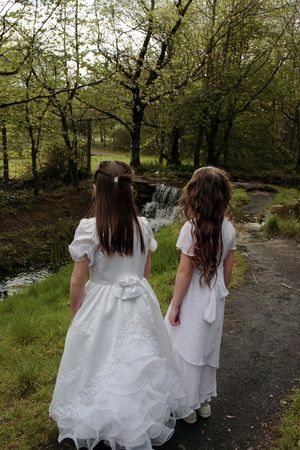 a picture of the time of the first communion Stock Photo - 3205198
