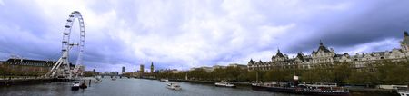 panoramic image of the city of london westwards photo