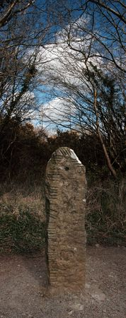 ancient standing stone monument in county limerick ireland