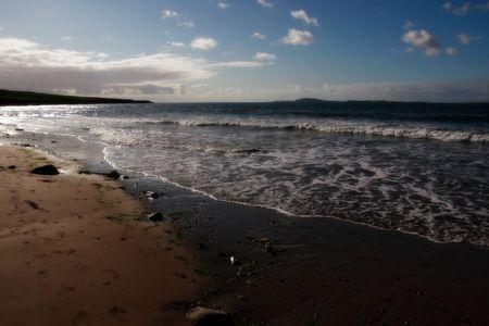 kerry: the shoreline on the west coast of kerry ireland
