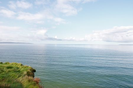 co  kerry: a view from the cliff walk ballybunion co kerry ireland Stock Photo