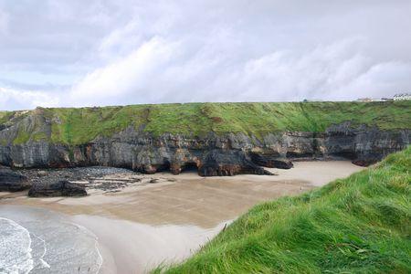 nuns: a view of the nuns beach ballybunion ireland