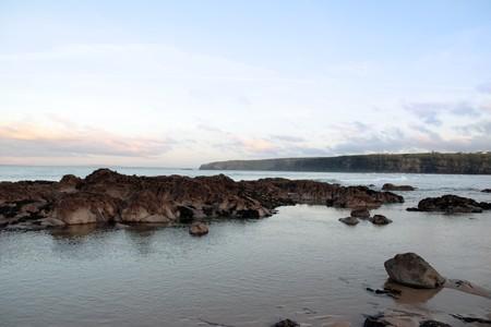 a calm and beautiful day on ballybunion beach photo