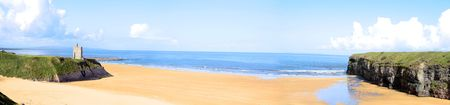a view of the beach in ballybunion co kerry ireland Stock Photo - 5184296